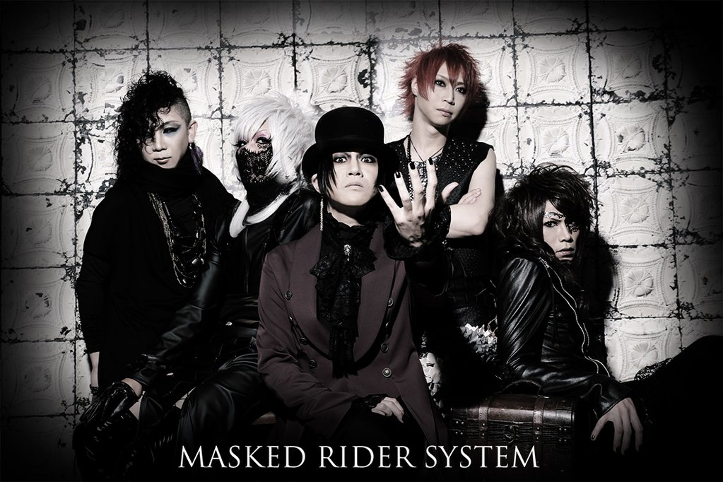 MASKED RIDER SYSTEM new image and single